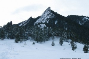 Boulder Winter Flatirons
