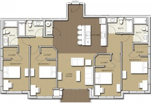 New Boulder Apartments For Rent Floorplan