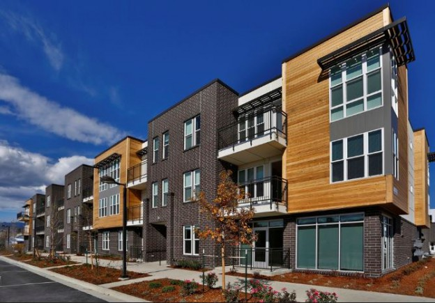 new luxury apartments in gunbarrel business district